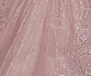 luxury, dress, and pink image
