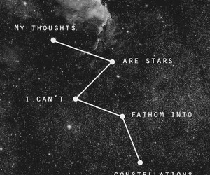 quotes, stars, and constellation image