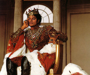 michael jackson, king, and king of pop image