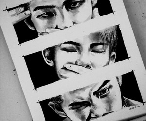 fanart, bts, and kpop image