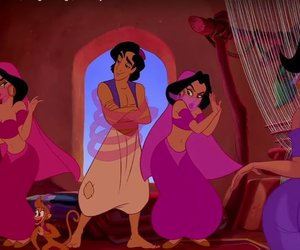 aladdin, disney, and middle east image