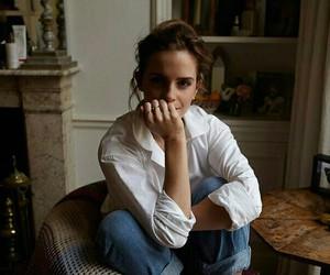 emma watson, actress, and beauty image