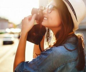 camera, girl, and inspirational image
