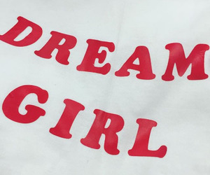 Dream, red, and dream girl image