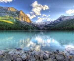 lake, canada, and landscape image
