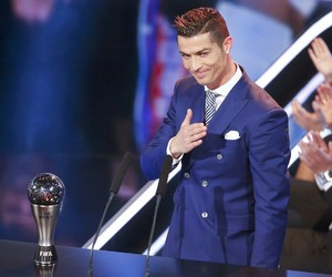 cristiano ronaldo, the best, and real madrid image