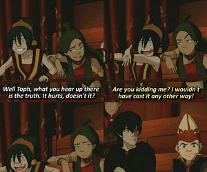 avatar, funny, and toph image