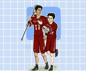fan art, teen wolf, and tw image