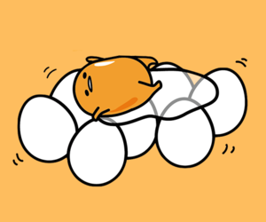 gudetama and wallpaper+ image
