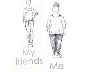 me, fat, and my friends image
