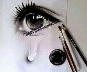 art, beautiful, and cry image