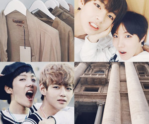 bts, hoseok, and taehyung image