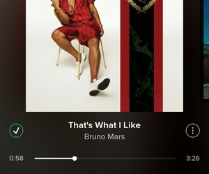 bruno mars, song, and music image