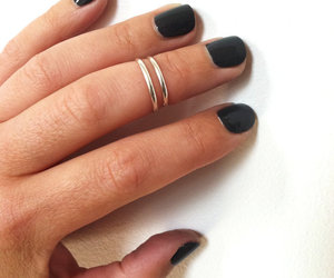 edgy, style, and ring image