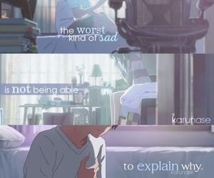anime, kimi no na wa, and quotes image