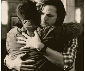 dean winchester, spn, and brothers image