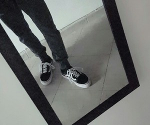 black, shoes, and skate image