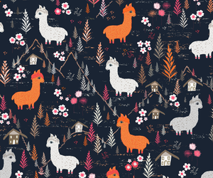 alpaca, animal, and background image