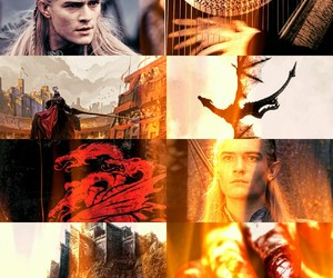 blood, dragon, and fire image