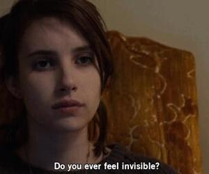 quotes, emma roberts, and invisible image
