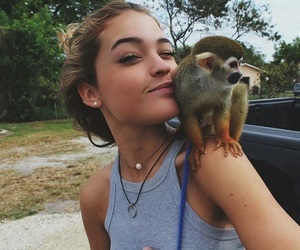 girl, animal, and vale genta image