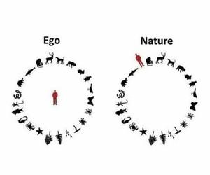 ego, nature, and spirituality image