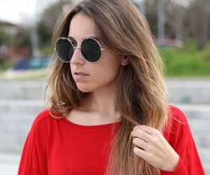 casual, fashion, and sunglasses image