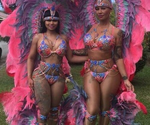 Amber Rose, carnival, and blac chyna image