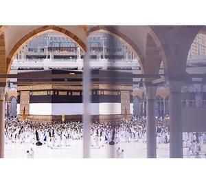 hijab, mekkah, and islam image
