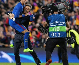 neymar and luis enrique image