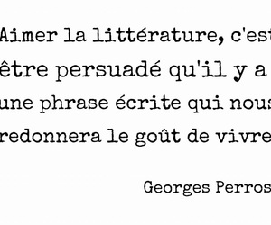 french, quote, and litterature image