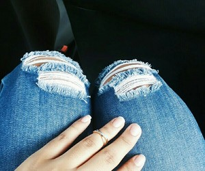 anel, jeans, and look image