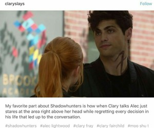 funny, tmi, and the mortal instruments image