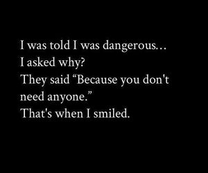 anyone, because, and dangerous image