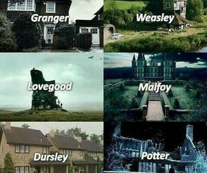 harry potter, lovegood, and malfoy image