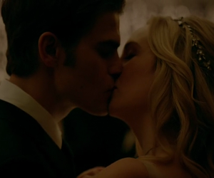 the vampire diaries and kiss image