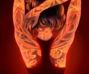 tattoo, art, and ladybug image