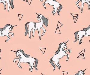 unicorn, wallpaper, and pattern image