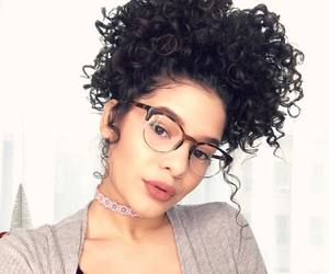 beauty, curly, and instagram image