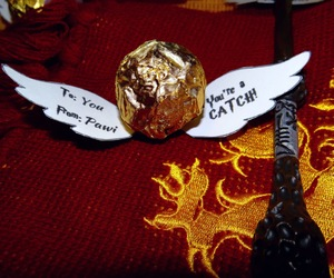 daniel radcliffe, diy, and golden snitch image