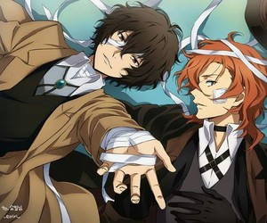 anime, bungo stray dogs, and dazai image