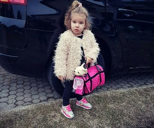 air max, fashion, and little girl image