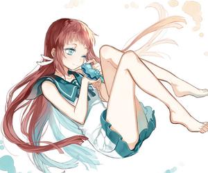 anime, girl, and manaka image