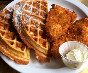 waffles, Chicken, and classic image