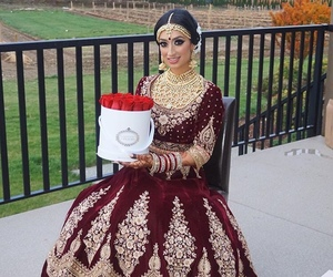 bride, punjabi, and indian image