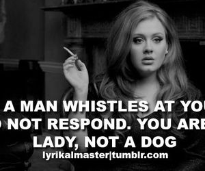 Adele, quote, and lady image