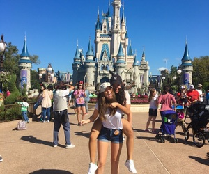 best friend, disney, and disney castle image