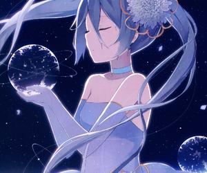 anime, miku hatsune, and vocaloid image