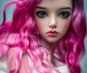 bjd, girl, and doll image