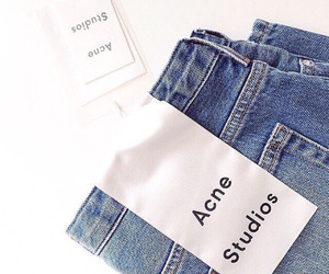 fashion, jeans, and acne studios image